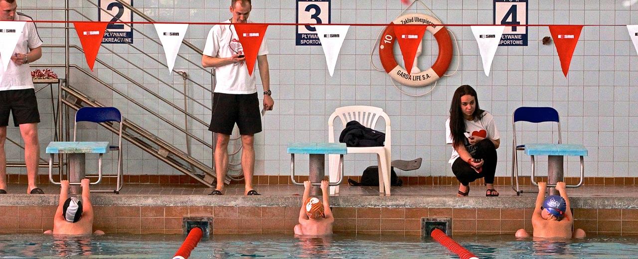 zawody pływackie Grupy Wodnej