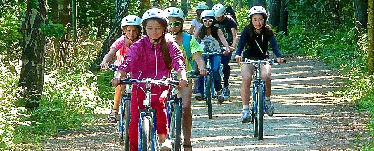 wyprawy rowerowe na koloniach