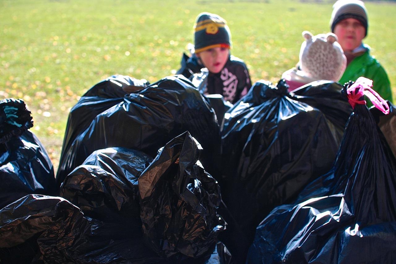 śmieciobranie ekoakcja bażantarnia