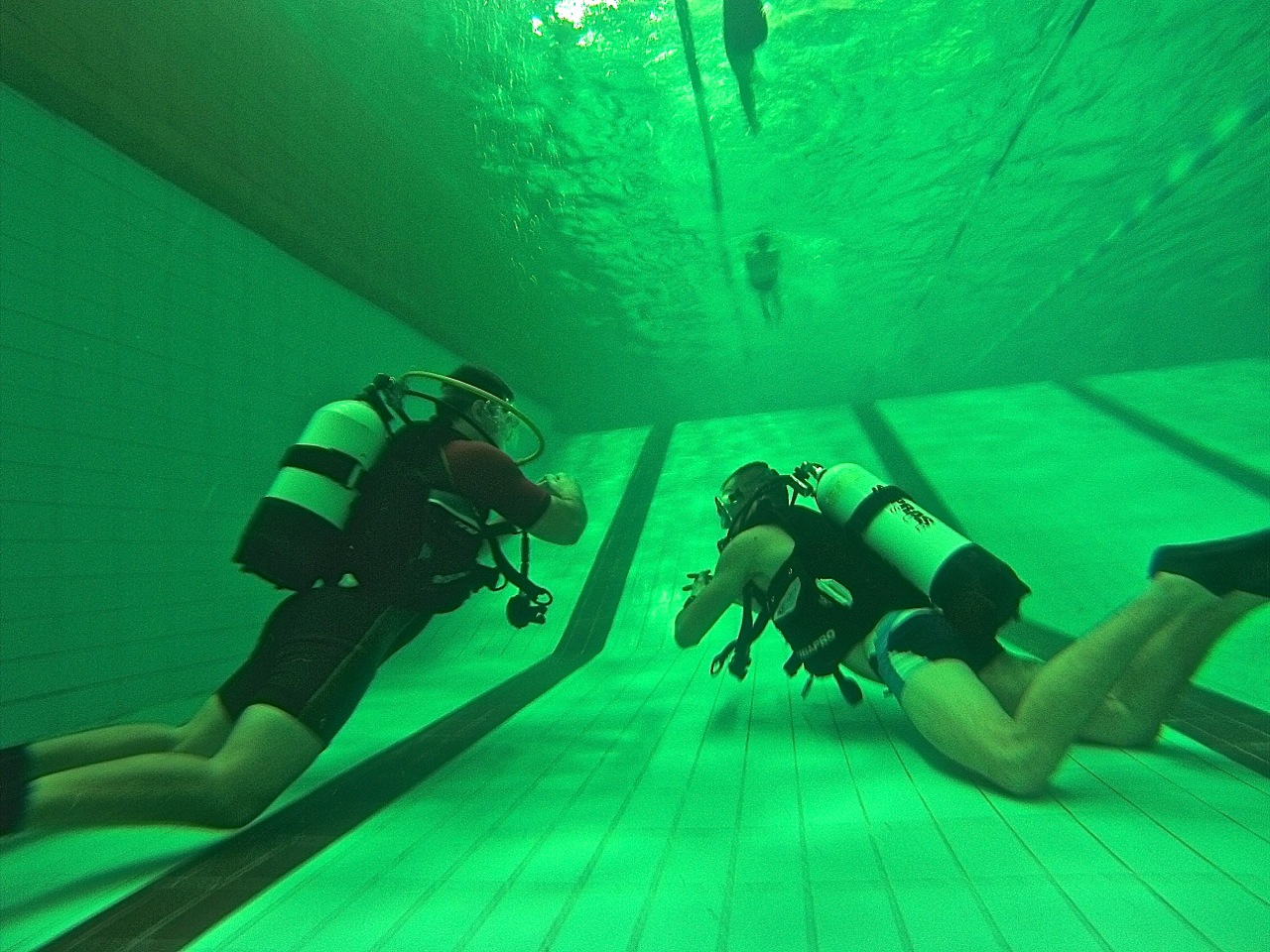 nurkowanie elbląg grupa wodna basen