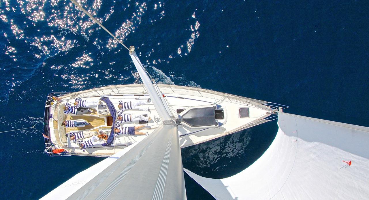 rejs stażowy Chorwacja Grupa Wodna Elbląg jacht