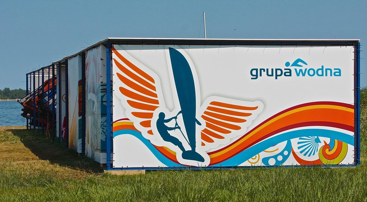 przystań baza spot windsurfing zatoka Pucka Grupa Wodna Hel