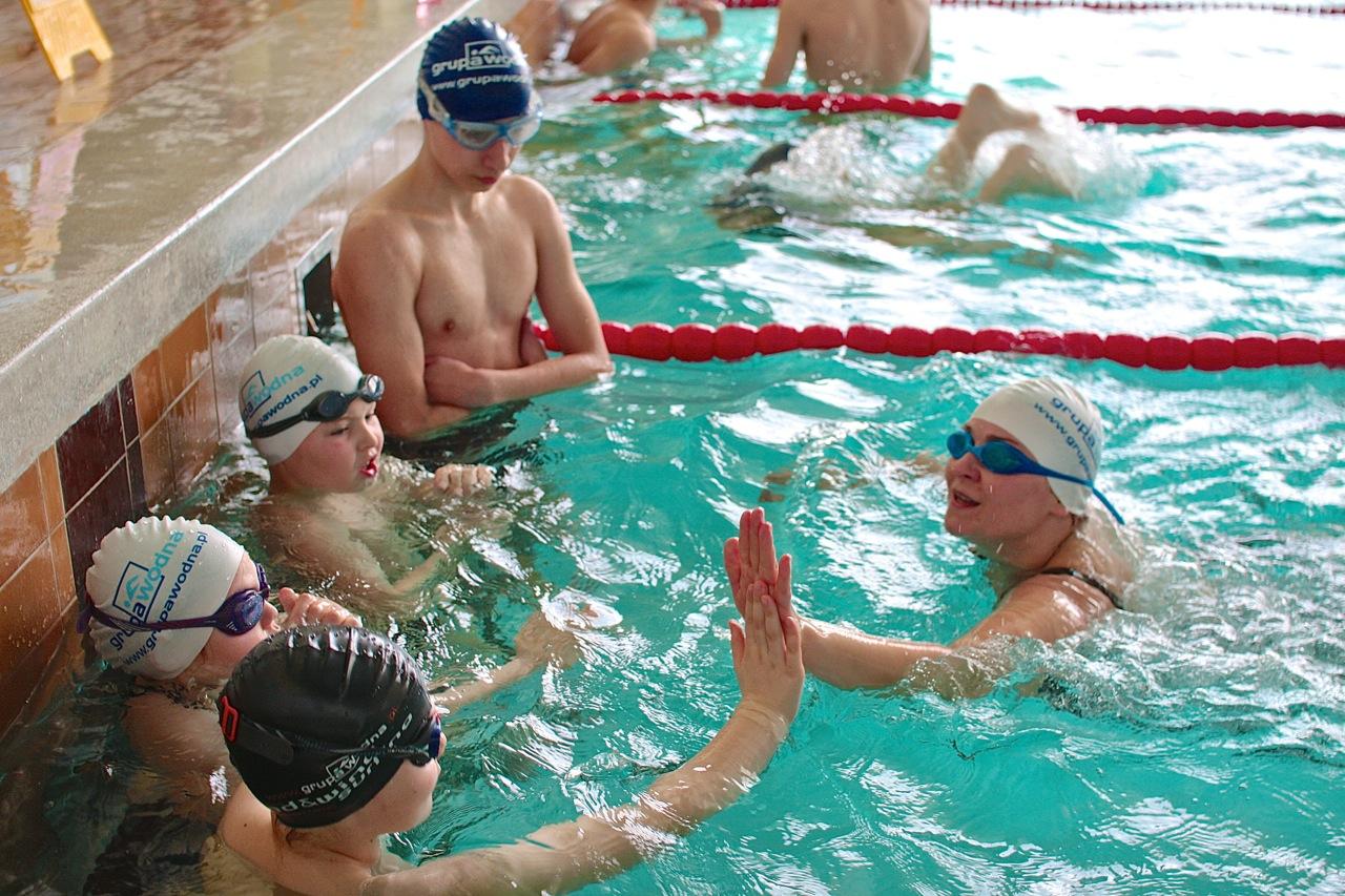 24h sztafeta pływacka Grupa Wodna