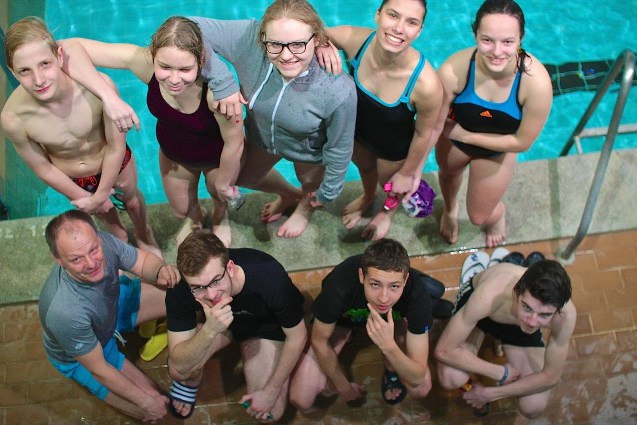 24h Sztafeta Pływacka Elbląg 2015 Grupa Wodna