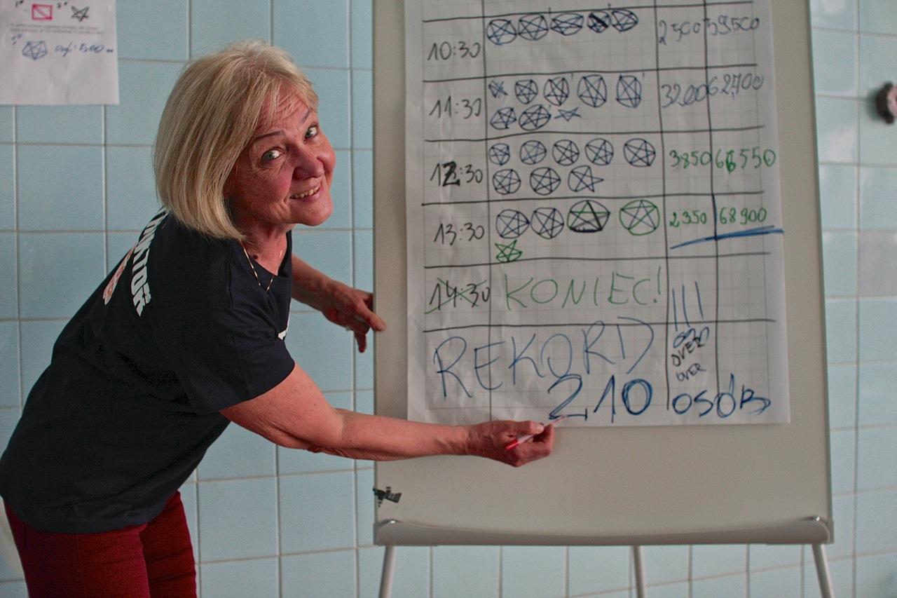 24h Sztafeta pływacka Grupa Wodna Elbląg 2015