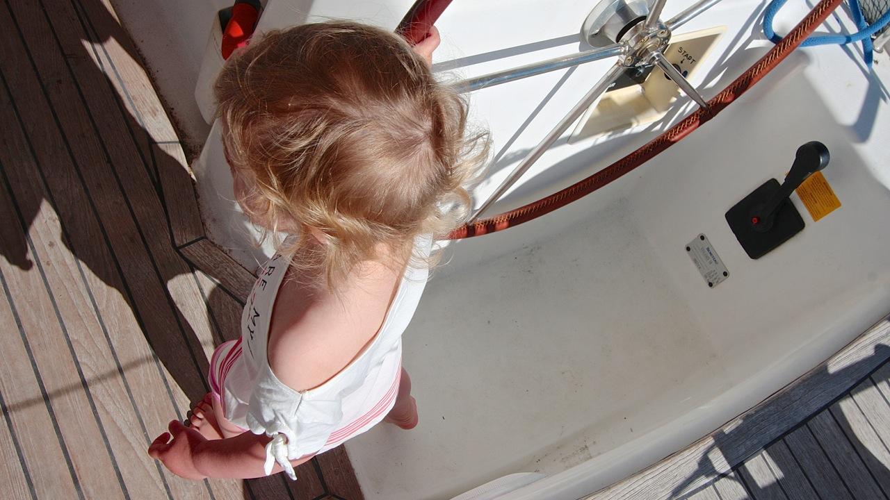 dzieci najachcie rejs grupa wodna grecja