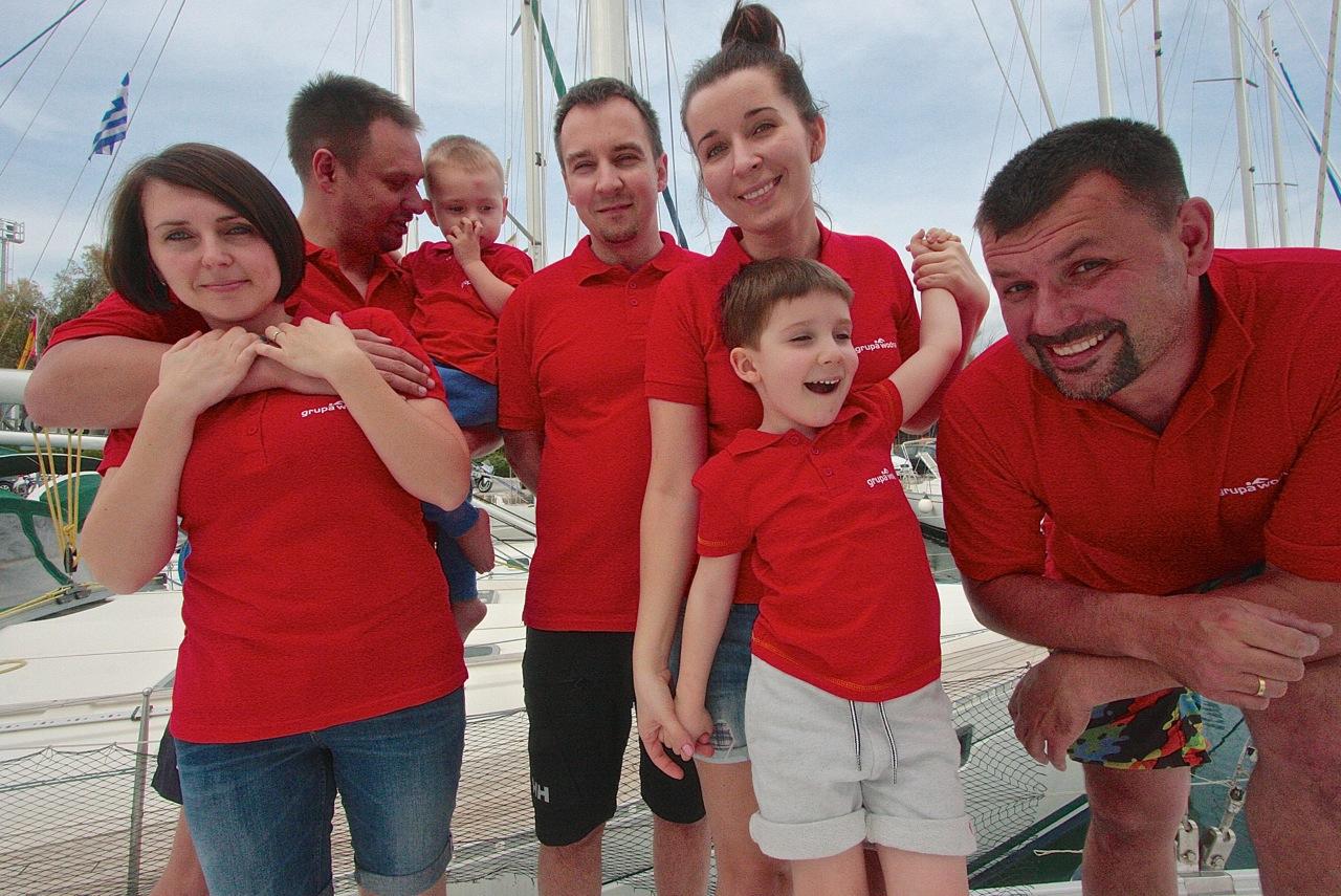grecja_rejs z dziećmi grupa wodna