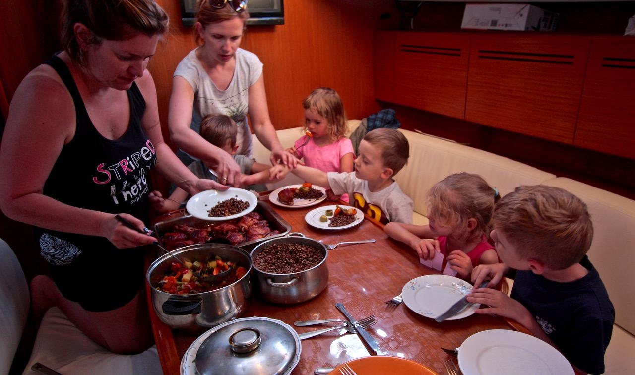 grecja rejs rodzinny grupa wodna