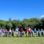 rodzinny rajd rowerowy bażantarnia elbląg grupa wodna