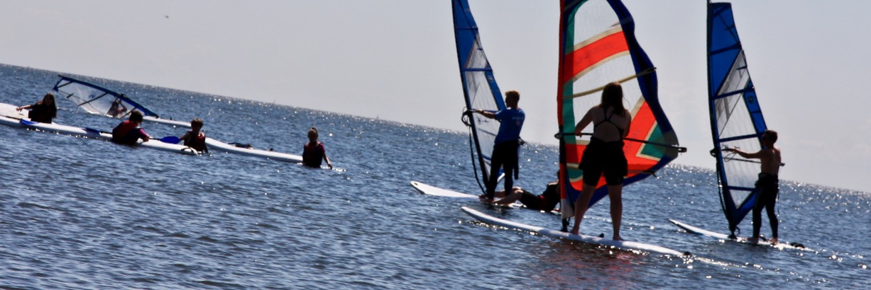 windsurfing kolonie wodne grupa wodna władysławowo