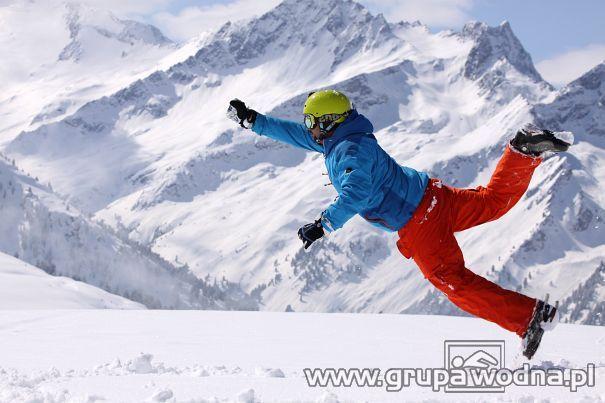 na narty w Alpy