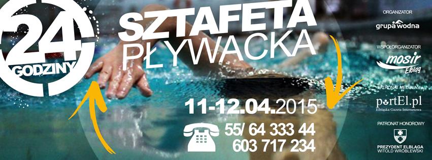 24 h sztafeta pływacka Grupa Wodna