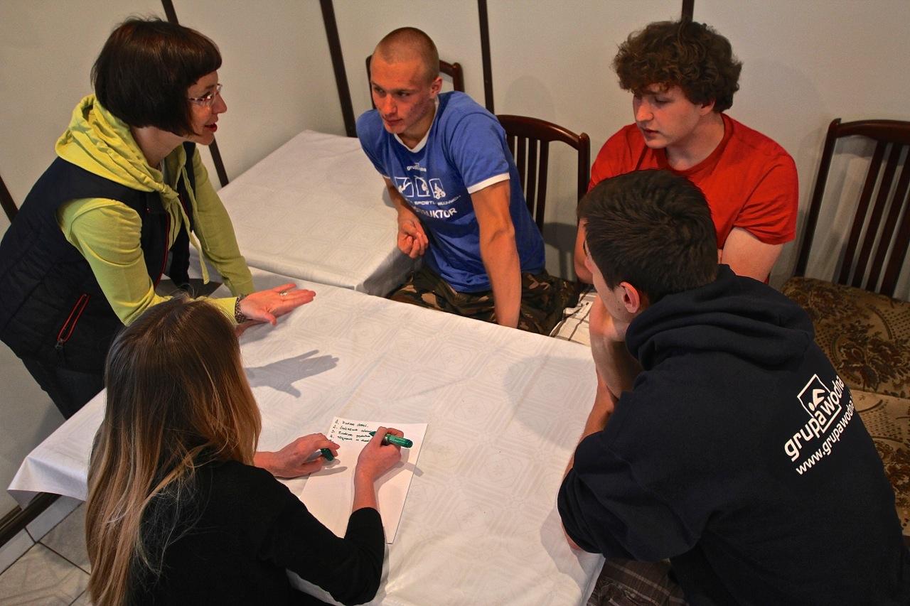 szkolenie instruktorów Grupy Wodnej