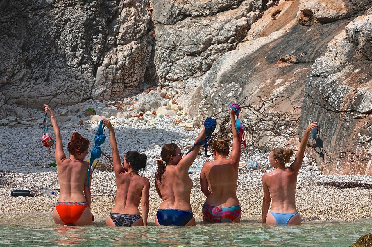 rejs Grecja morze Jońskie grupa wodna
