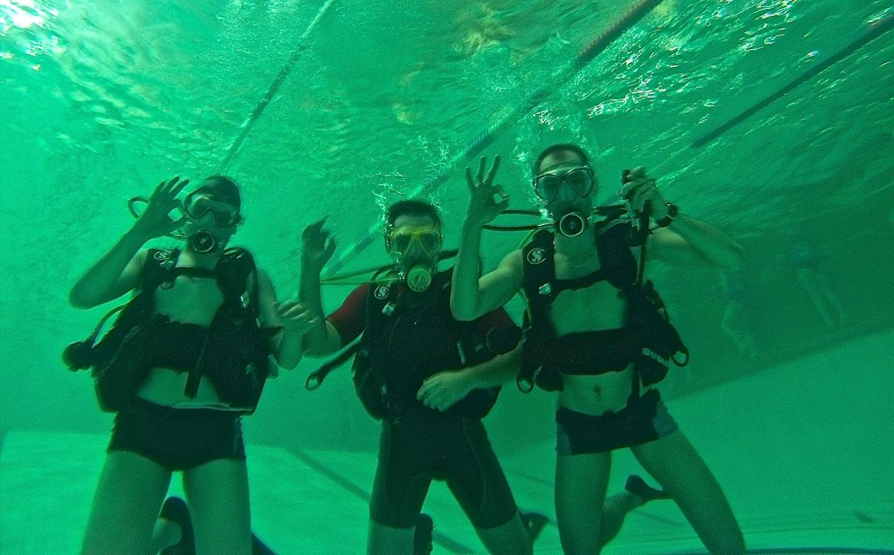 nurkowanie elbląg grupa wodna pływalnia basen