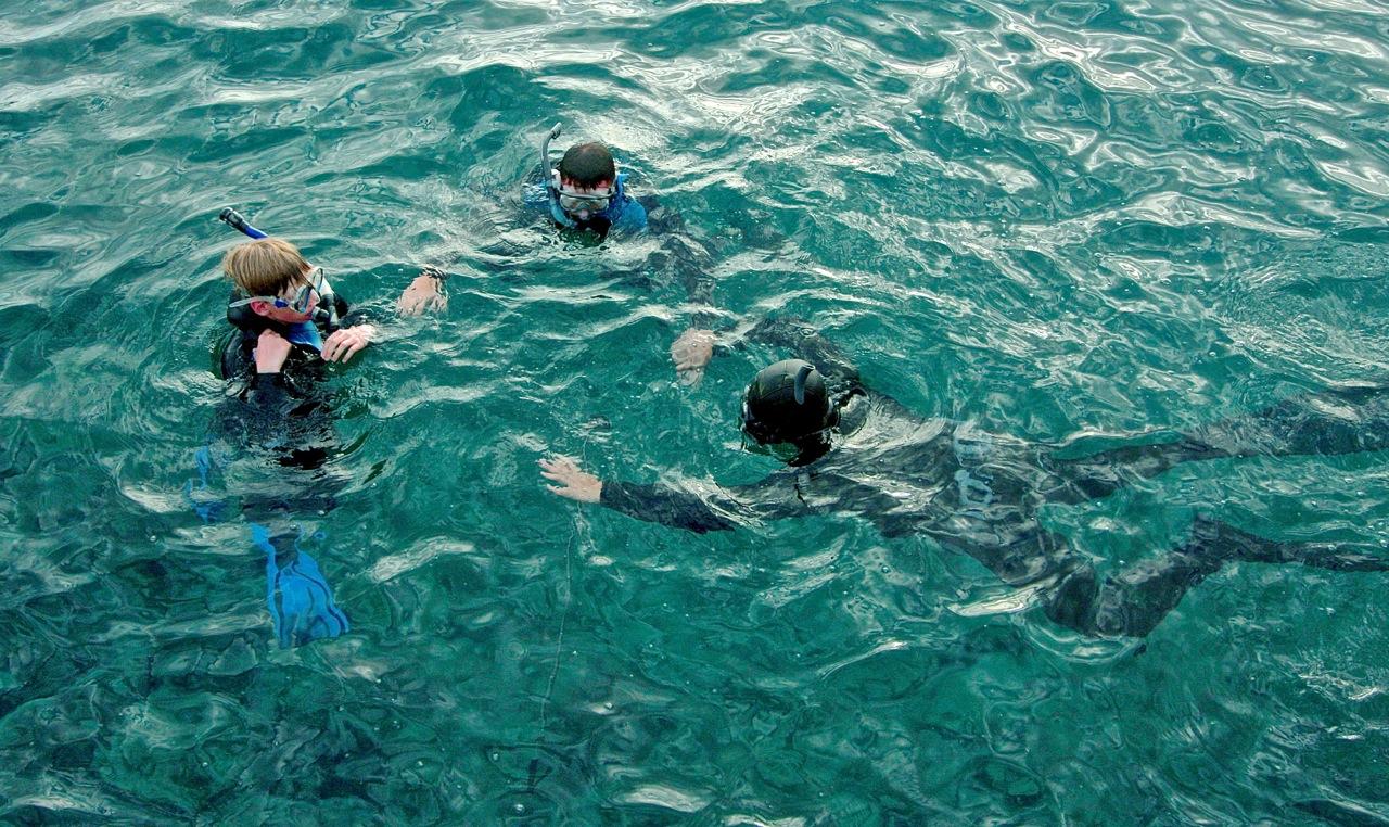obóz sportów wodnych grupa wodna teneryfa nurkowanie open water
