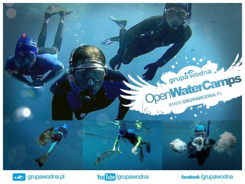 OpenWaterCamps_2015 Tenerife grupa wodna obóz młodzieżowy