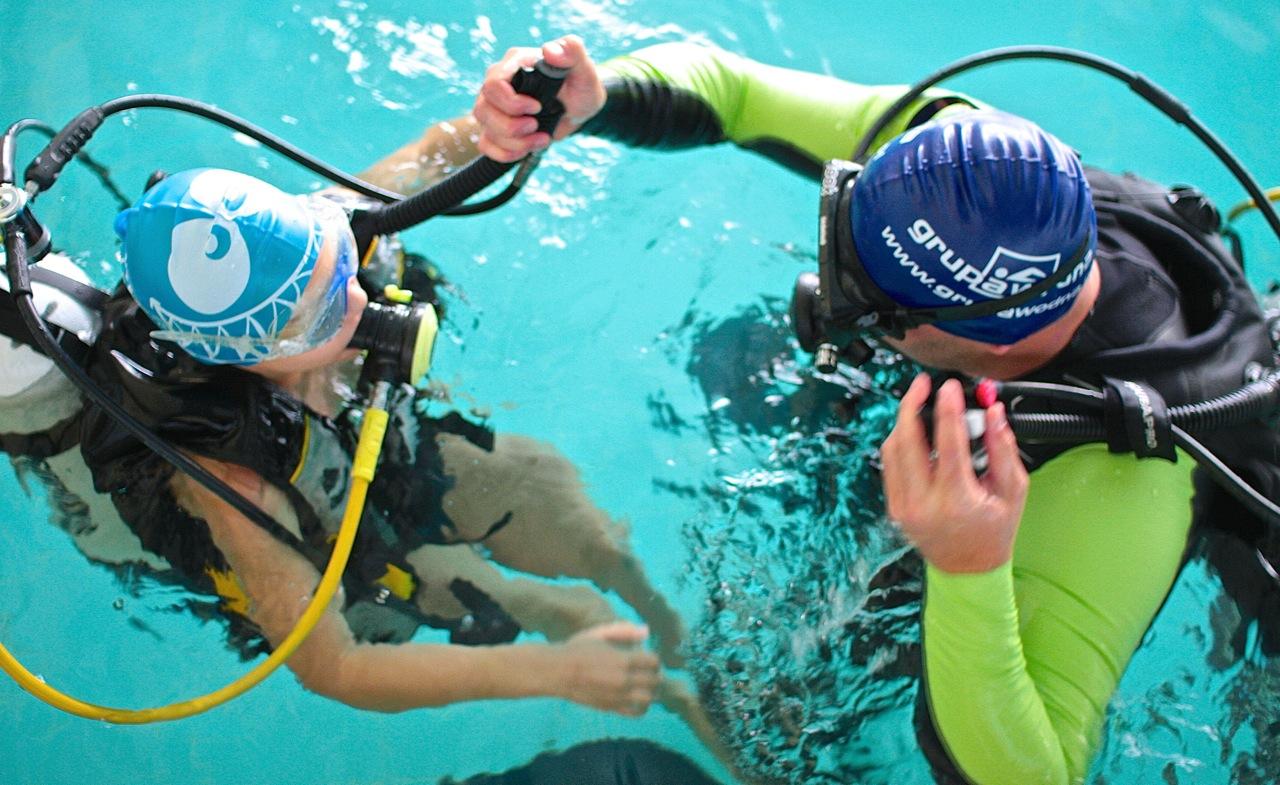 nurkowanie nauka nurkowania Elbląg kurs nurkowy PADI