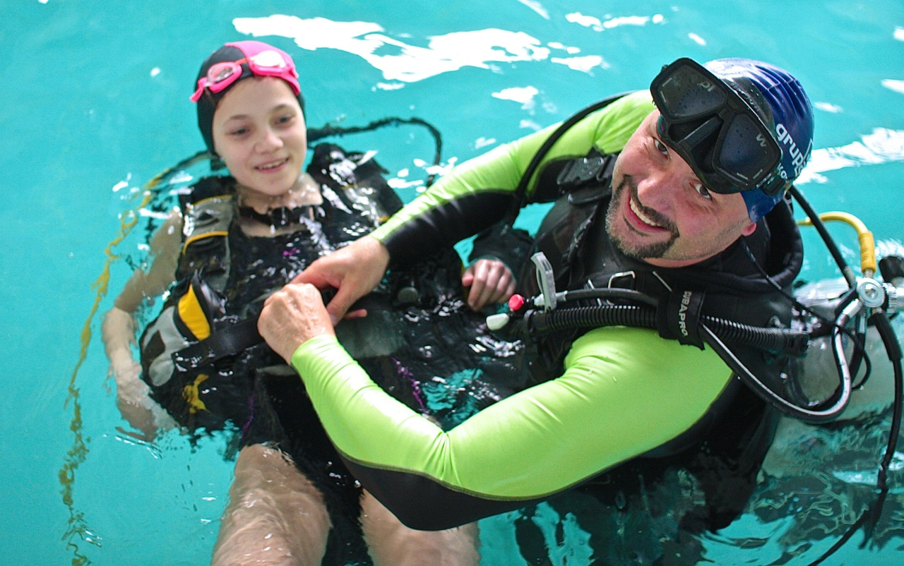 instruktor nurkowania Marcin Trudnowski nurkowanie Elbląg PADI