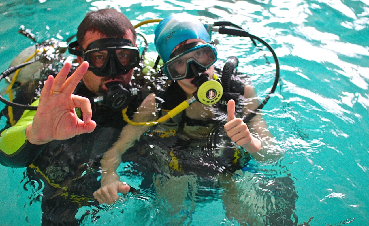 nurkowanie nauka nurkowania Elbląg Grupa Wodna kurs PADI