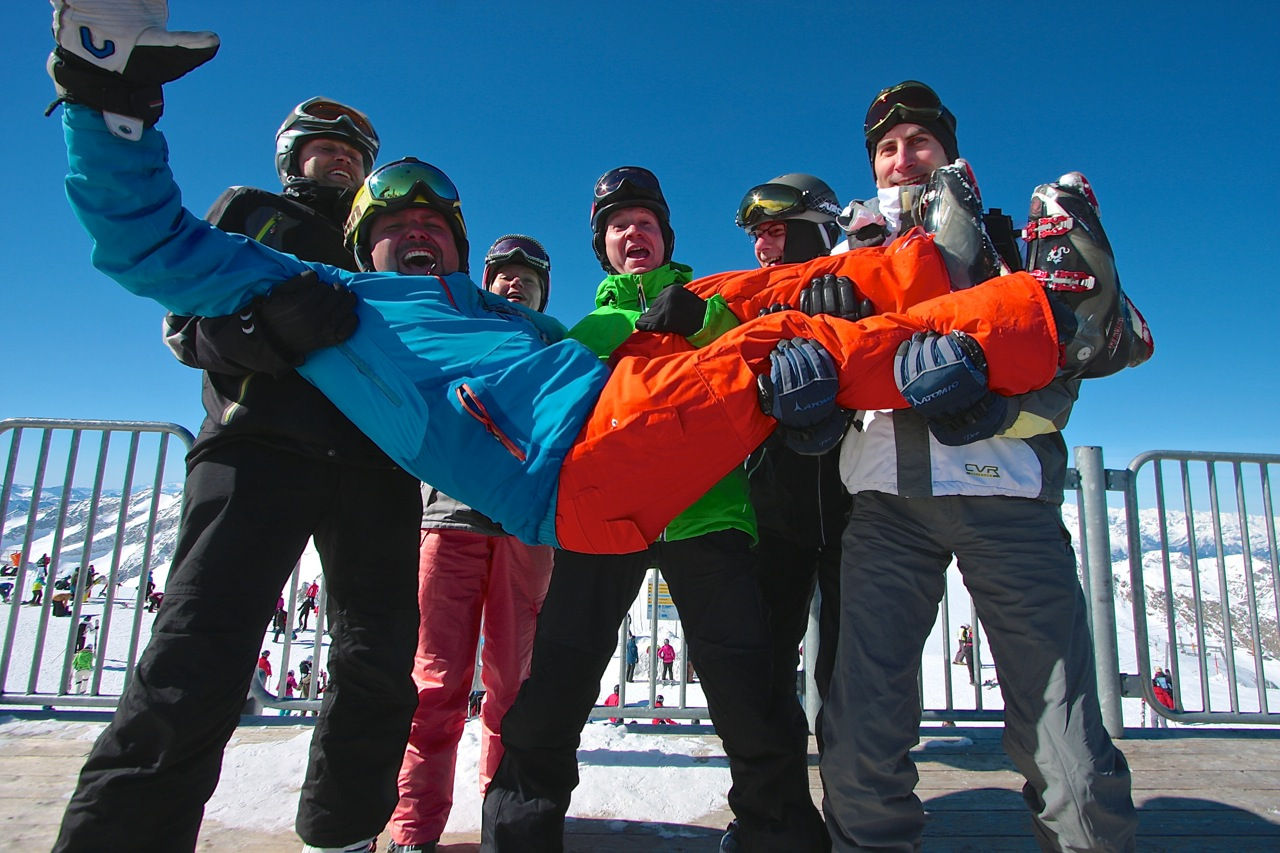 na narty wAlpy Grupa Wodna instruktor