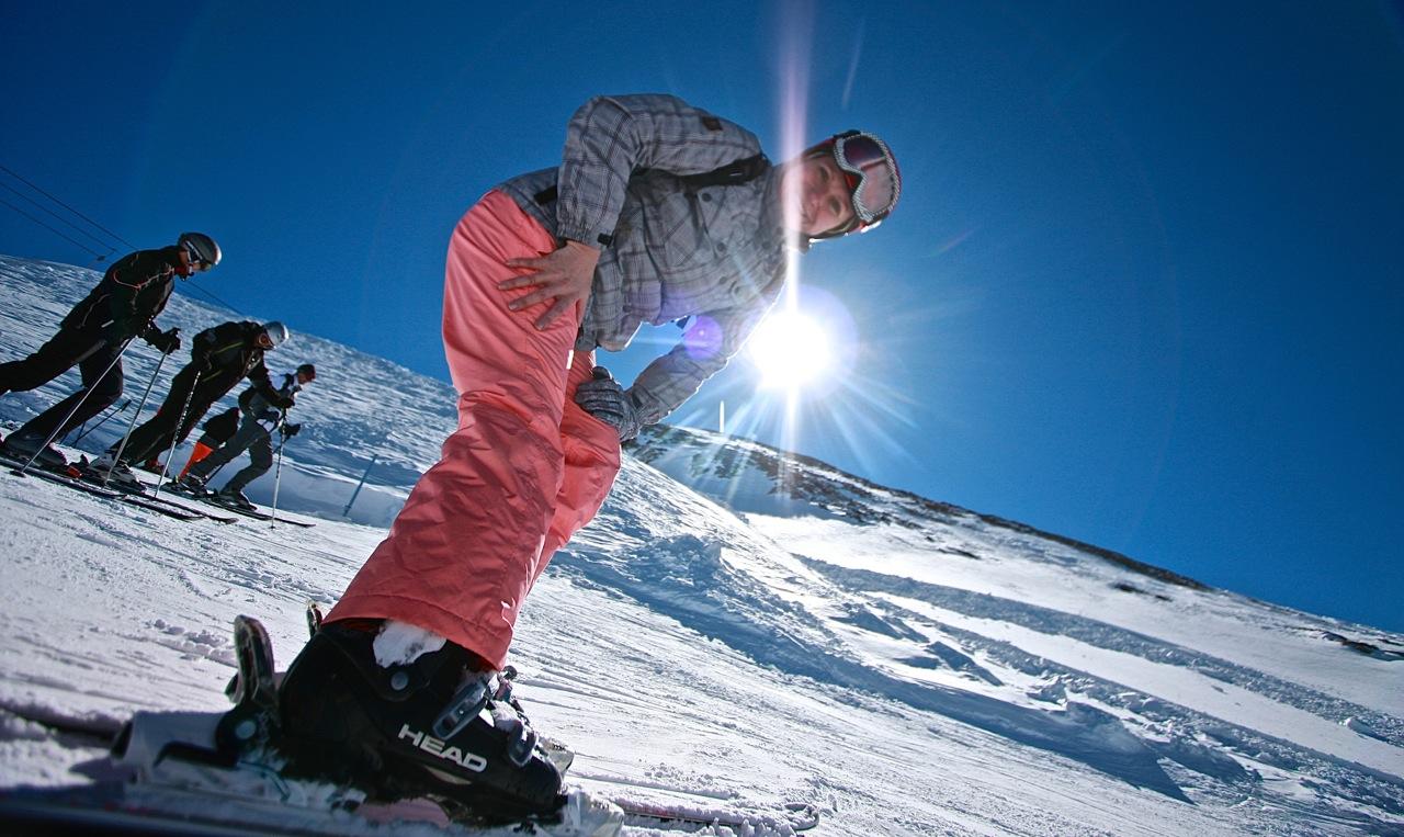 narty Alpy Austria Hintertux instruktor Grupa Wodna