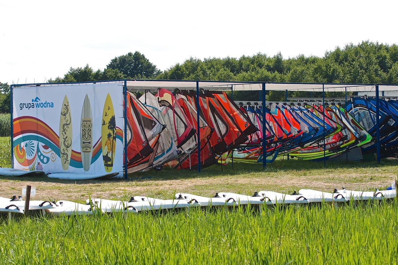 baza stanica przystań wodna zatoka Pucka Hel Grupa Wodna windsurfing