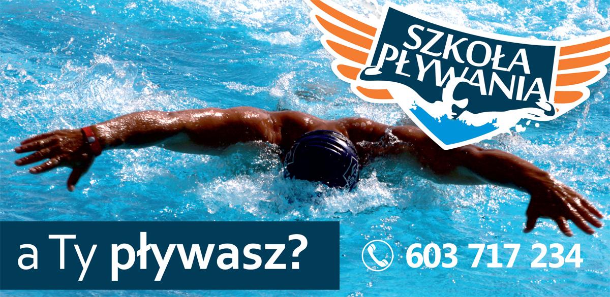 szkoła pływania Grupa Wodna nauka pływanie Elbląg Dolinka nowy basen