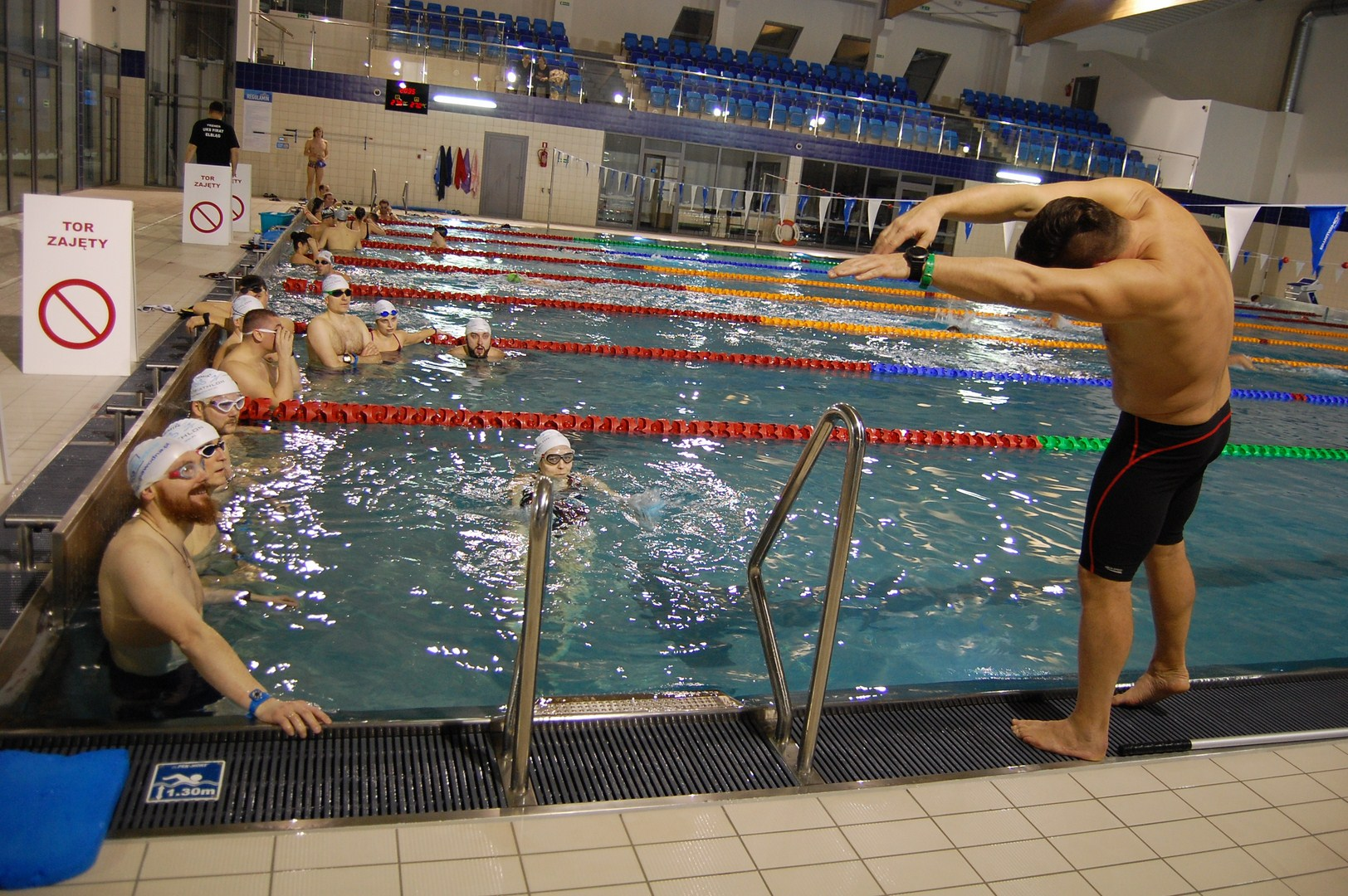 pływanie wtriathlonie Grupa Wodna