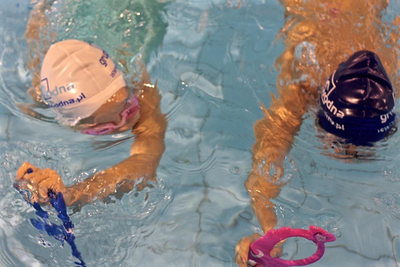 grupa wodna nauka pływania dla dzieci Elbląg
