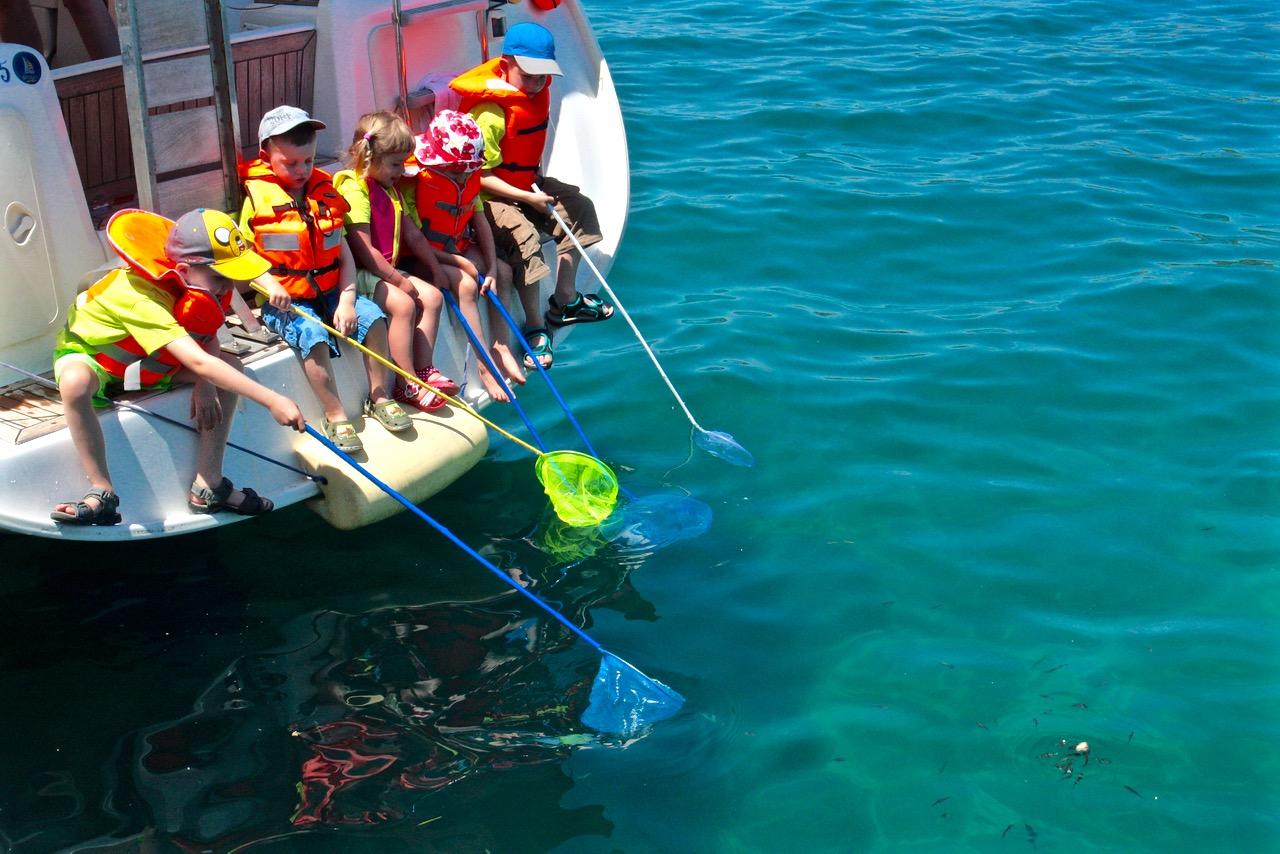 rejs rodzinny grecja grupa wodna