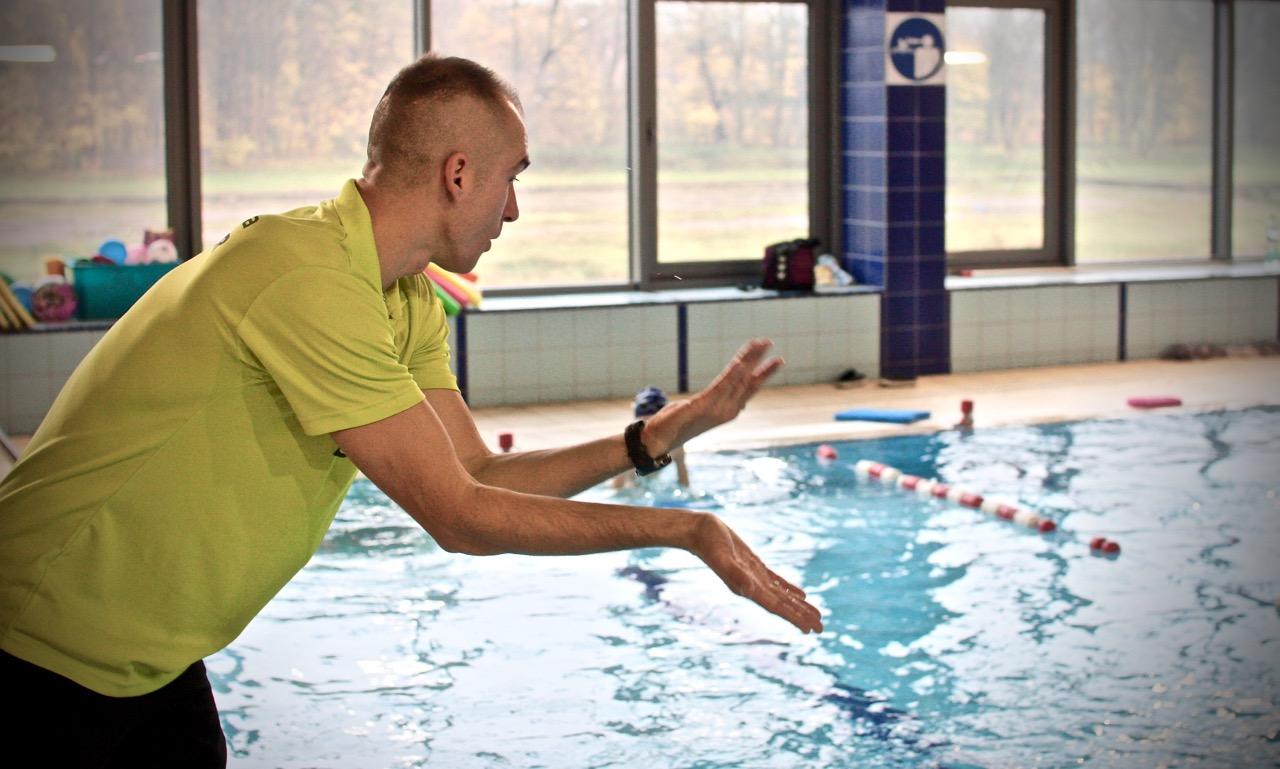 korepetycje z pływania lekcje indywidualne