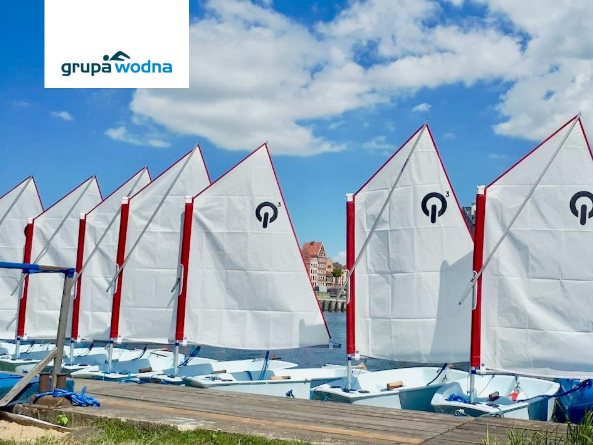 szkółka żeglarstwa Elbląg Grupa Wodna