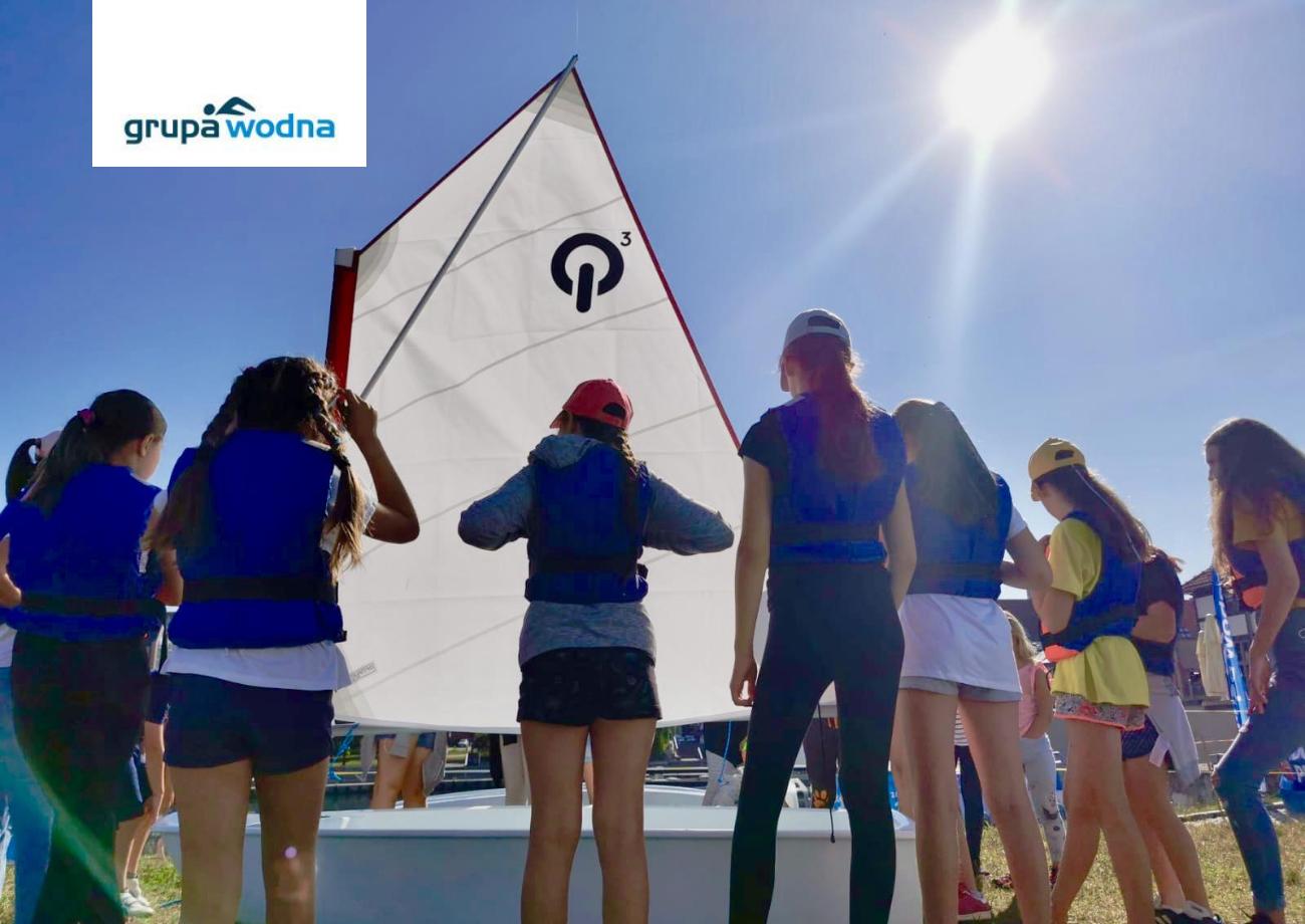szkoła żeglarstwa wElblągu Grupa Wodna
